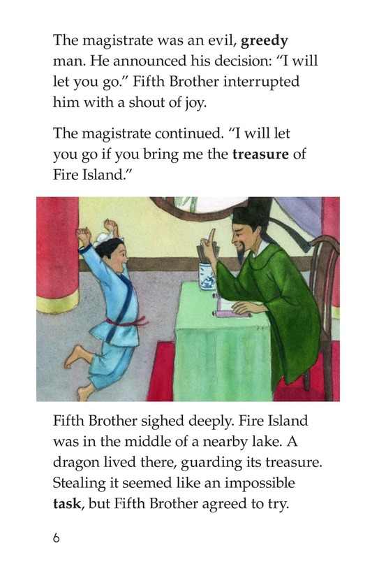 Book Preview For The Five Brothers Page 6