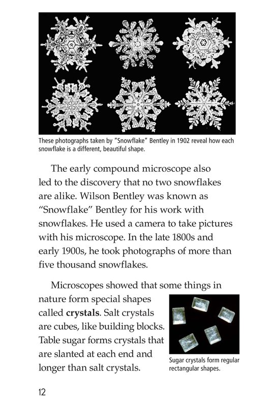 Book Preview For Through a Microscope Page 12