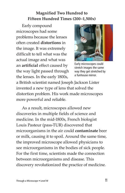 Book Preview For Through a Microscope Page 11