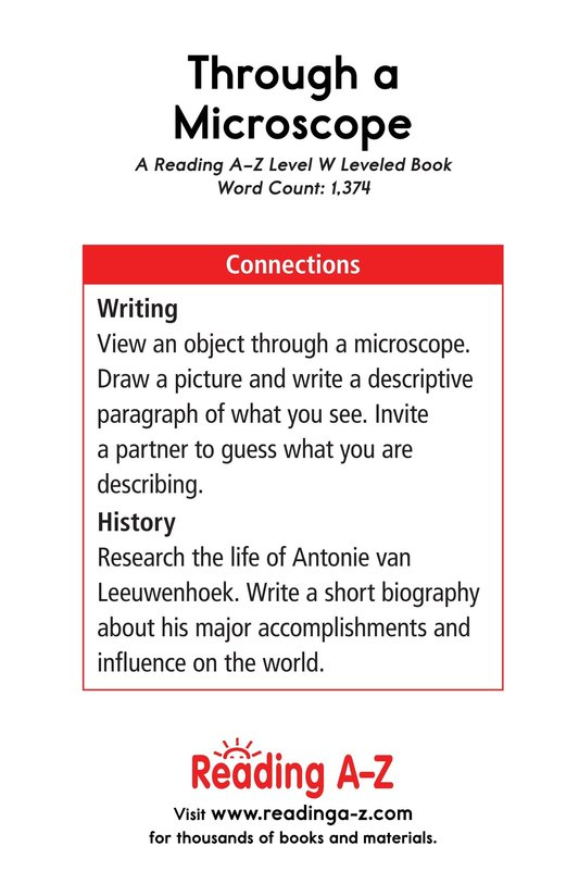 Book Preview For Through a Microscope Page 17