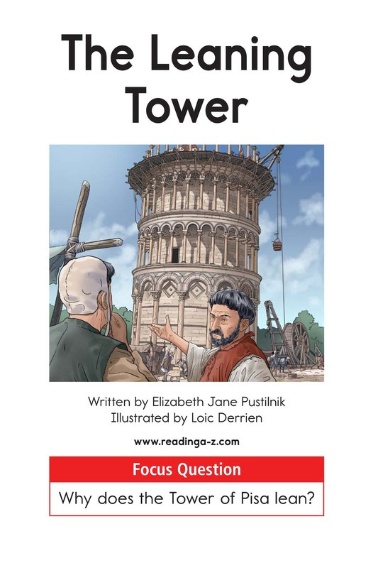 Book Preview For The Leaning Tower Page 1