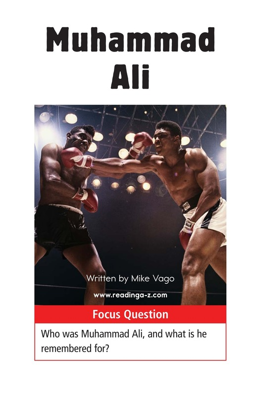 Book Preview For Muhammad Ali Page 1
