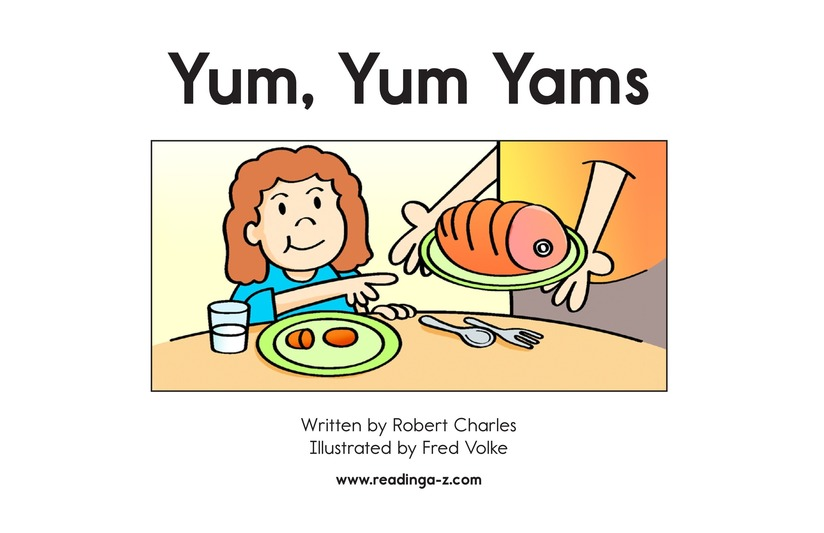 Book Preview For Yum, Yum Yams Page 2