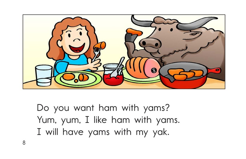 Book Preview For Yum, Yum Yams Page 8