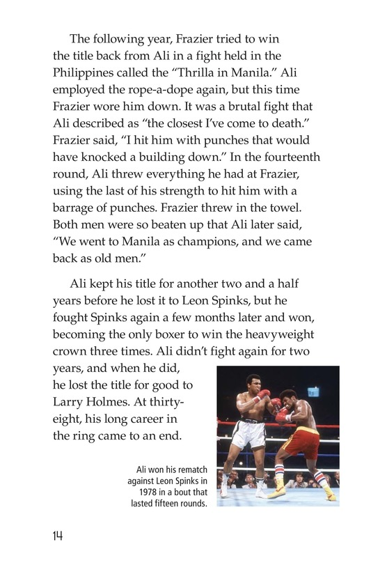Book Preview For Muhammad Ali Page 14