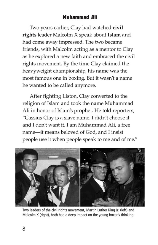 Book Preview For Muhammad Ali Page 8