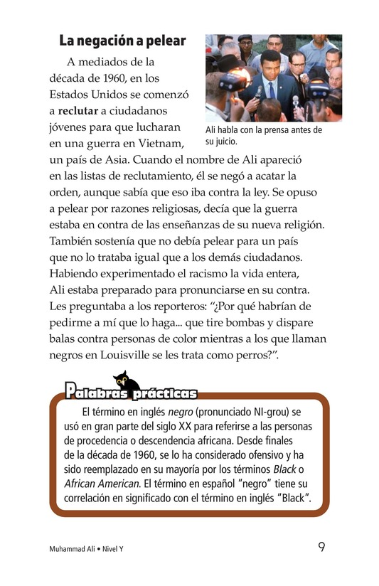 Book Preview For Muhammad Ali Page 9