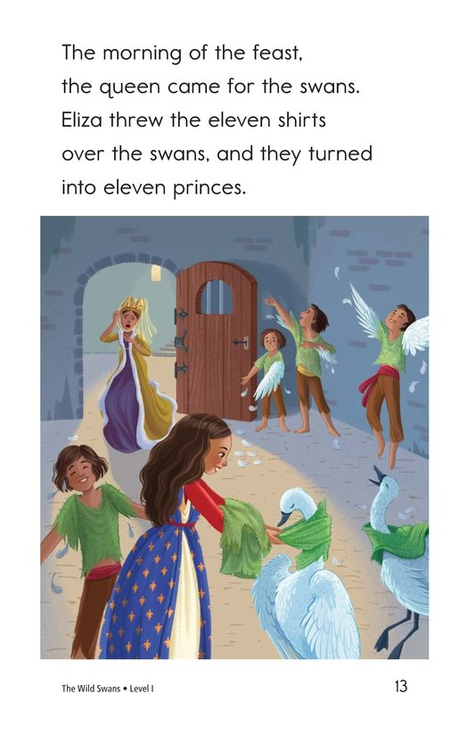 Book Preview For The Wild Swans Page 13