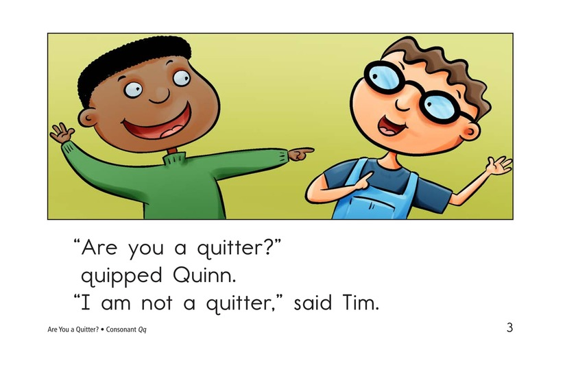 Book Preview For Are You a Quitter? Page 3