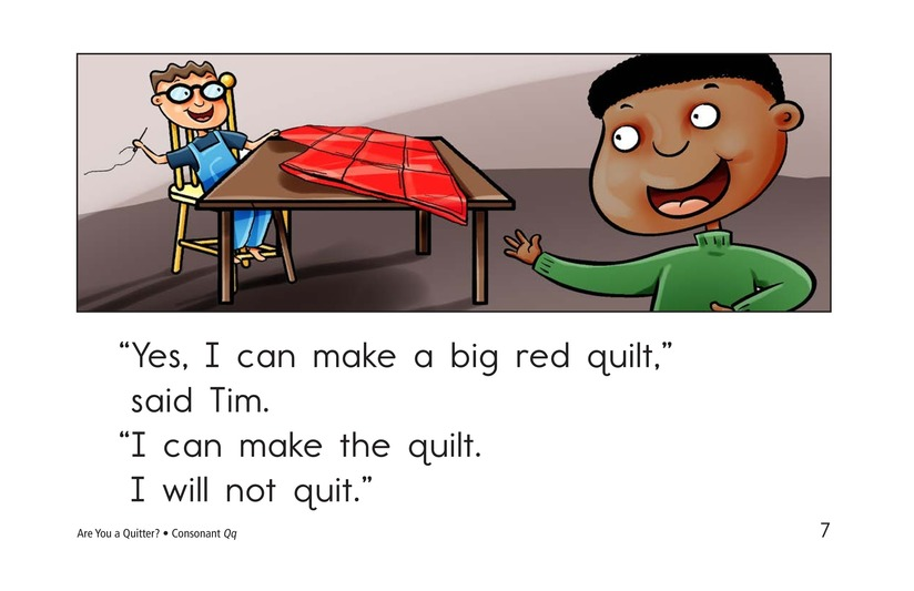 Book Preview For Are You a Quitter? Page 7