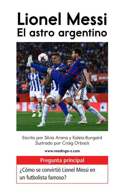 Book Preview For Lionel Messi, El astro argentino Page 1
