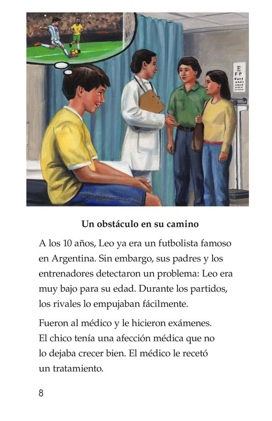 Book Preview For Lionel Messi, El astro argentino Page 8
