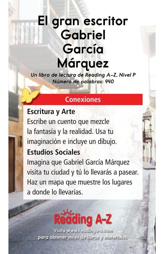 Book Preview For El gran escritor, Gabriel García Márquez Page 17