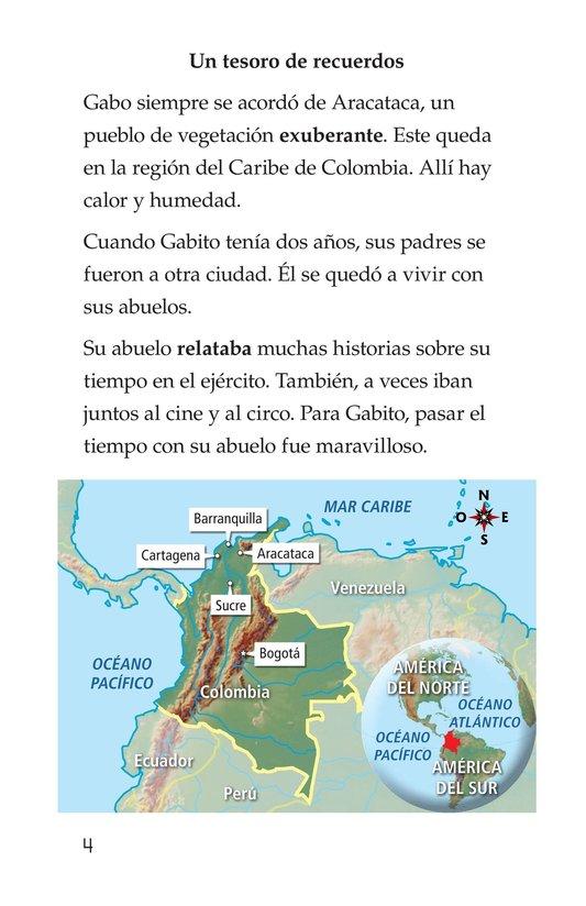 Book Preview For El gran escritor, Gabriel García Márquez Page 4