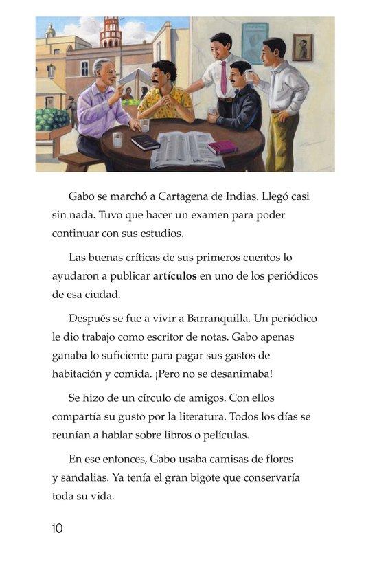 Book Preview For El gran escritor, Gabriel García Márquez Page 10