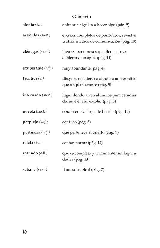 Book Preview For El gran escritor, Gabriel García Márquez Page 16