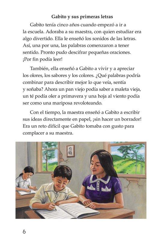 Book Preview For El gran escritor, Gabriel García Márquez Page 6
