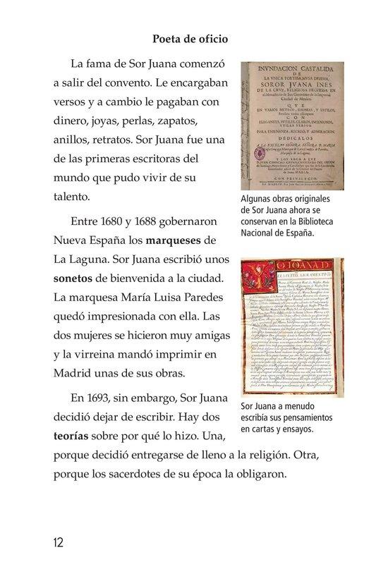 Book Preview For Sor Juana Inés de la Cruz Page 12