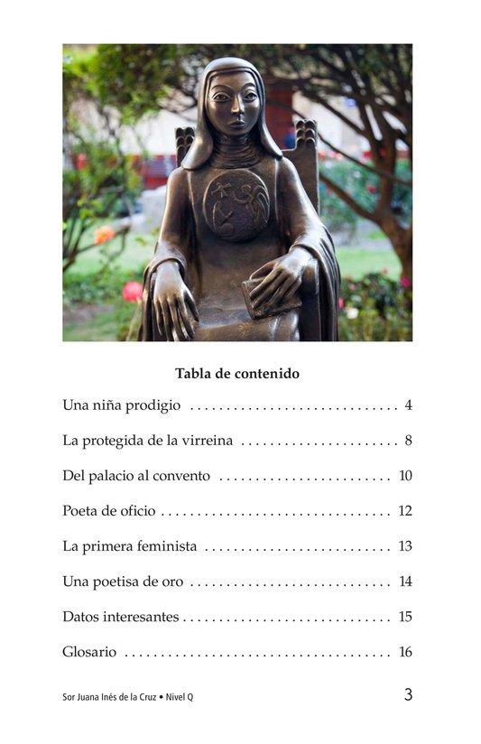 Book Preview For Sor Juana Inés de la Cruz Page 3