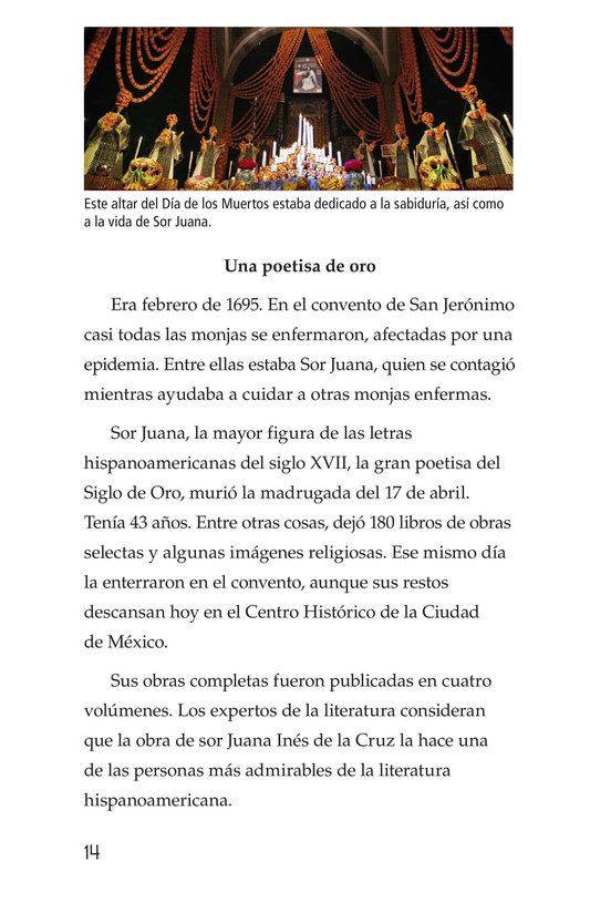 Book Preview For Sor Juana Inés de la Cruz Page 14