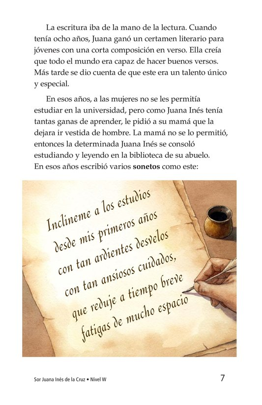 Book Preview For Sor Juana Inés de la Cruz Page 7