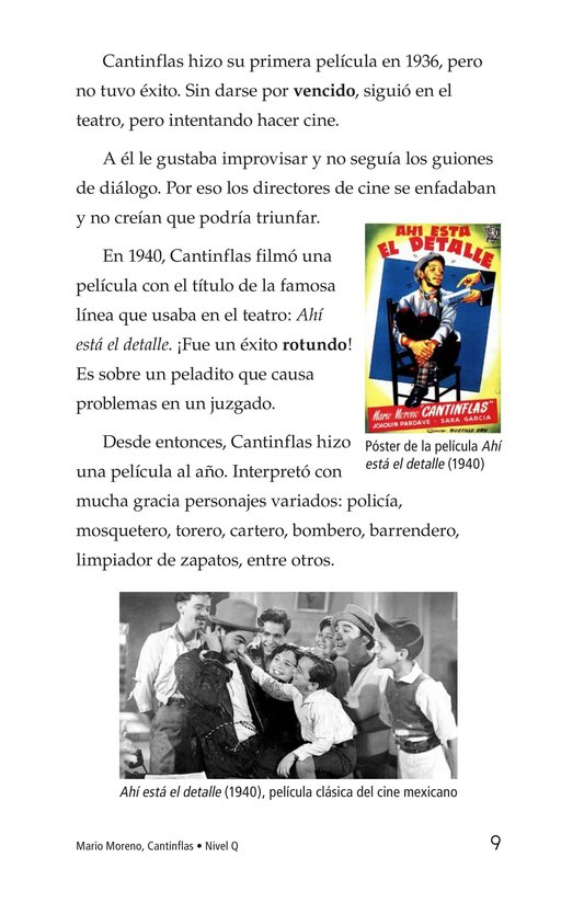 Book Preview For Mario Moreno, Cantinflas Page 9