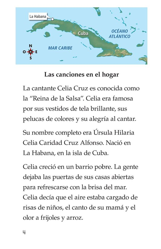 Book Preview For Celia Cruz, ¡Qué salsa más rica! Page 4