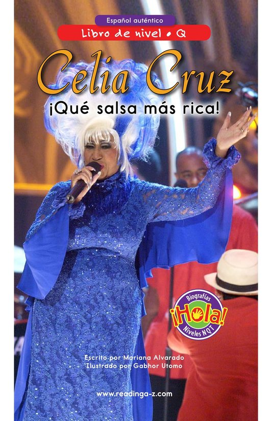 Book Preview For Celia Cruz, ¡Qué salsa más rica! Page 0