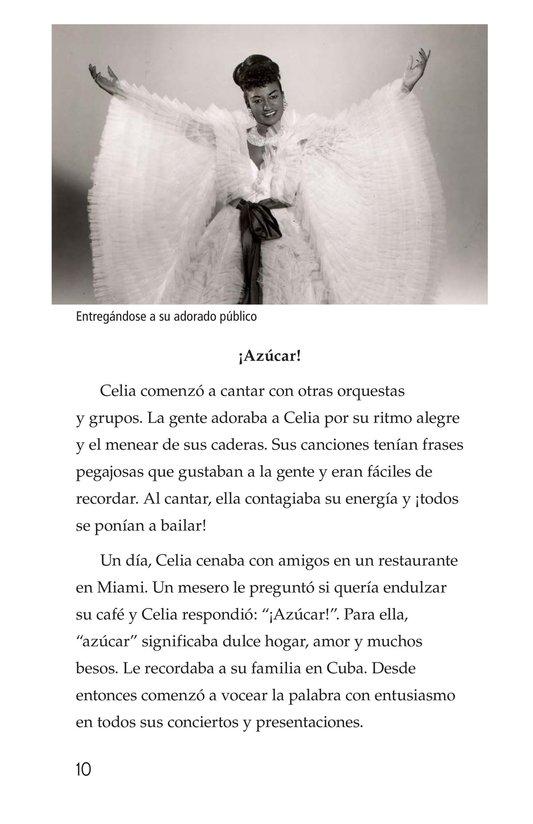Book Preview For Celia Cruz, ¡Qué salsa más rica! Page 10