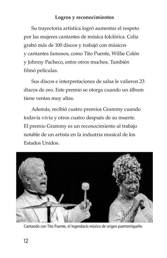 Book Preview For Celia Cruz, ¡Qué salsa más rica! Page 12