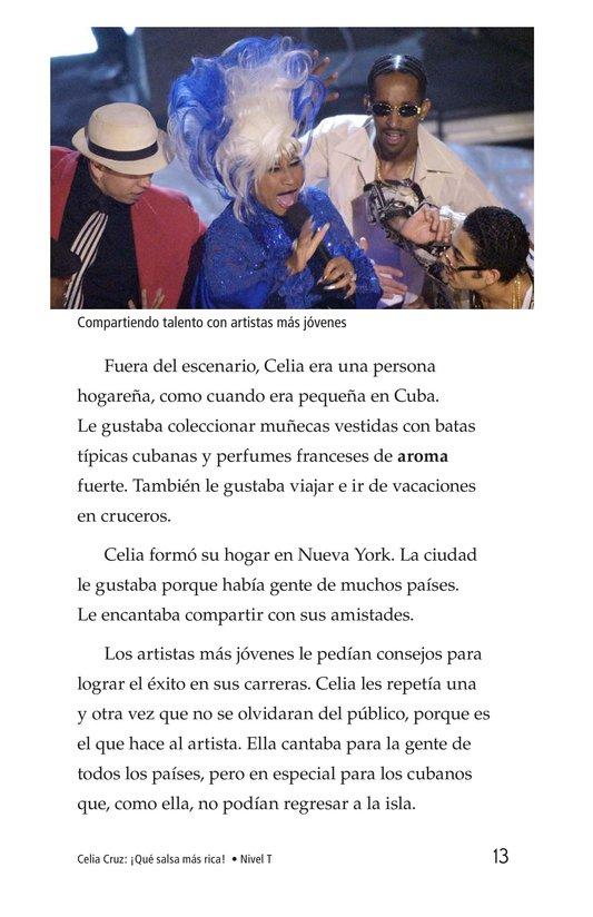 Book Preview For Celia Cruz, ¡Qué salsa más rica! Page 13