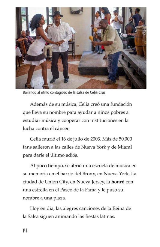 Book Preview For Celia Cruz, ¡Qué salsa más rica! Page 14