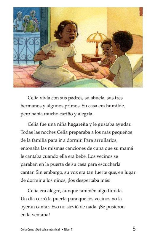 Book Preview For Celia Cruz, ¡Qué salsa más rica! Page 5
