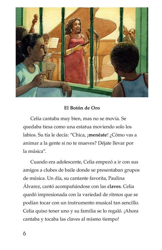 Book Preview For Celia Cruz, ¡Qué salsa más rica! Page 6