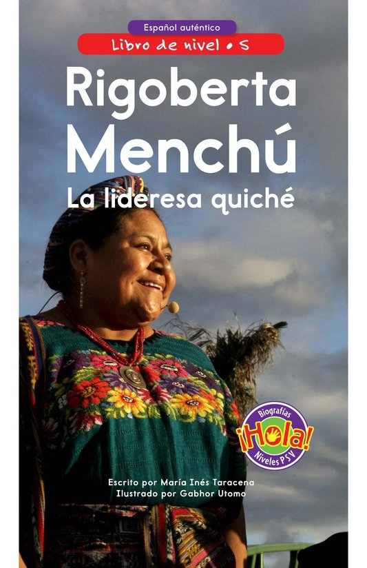 Book Preview For Rigoberta Menchú, La lideresa quiché Page 0