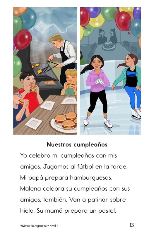 Book Preview For Vivimos en Argentina Page 13