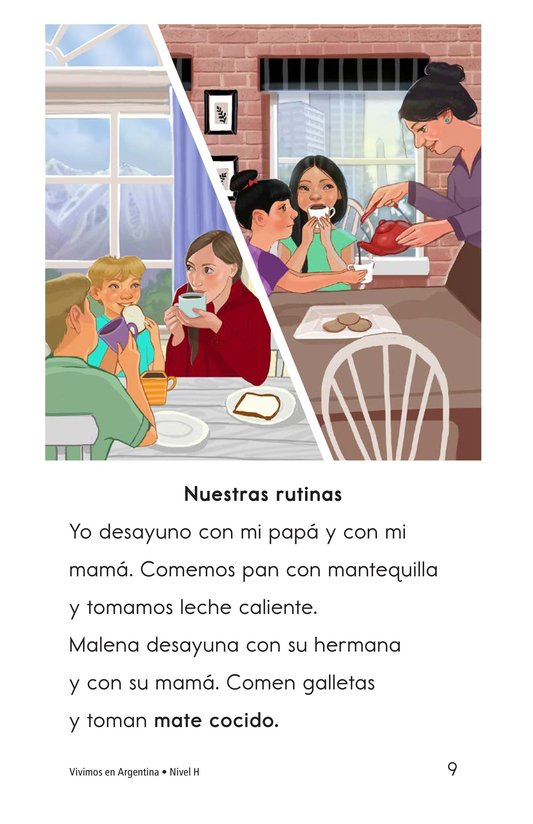 Book Preview For Vivimos en Argentina Page 9