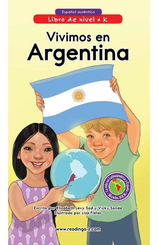 Book Preview For Vivimos en Argentina Page 0