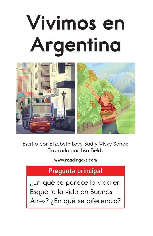 Book Preview For Vivimos en Argentina Page 1