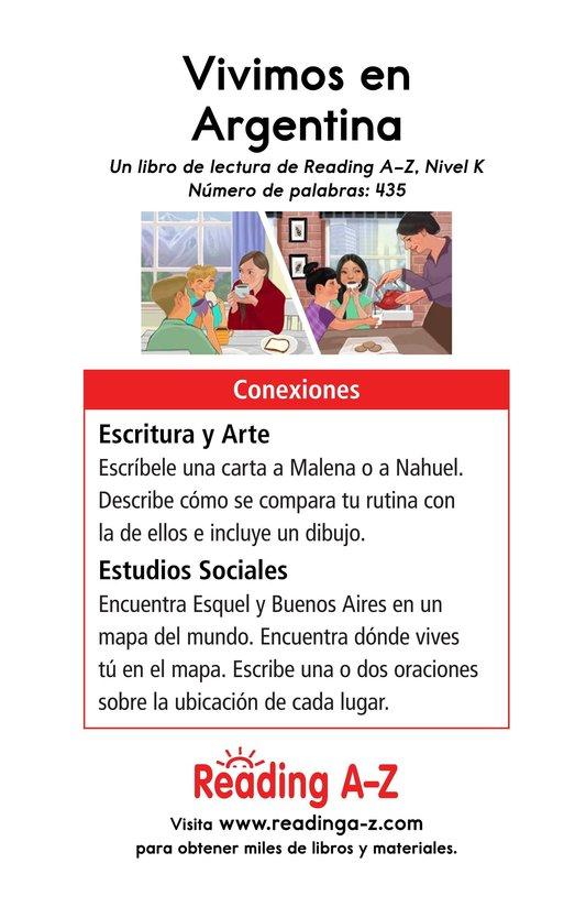 Book Preview For Vivimos en Argentina Page 17