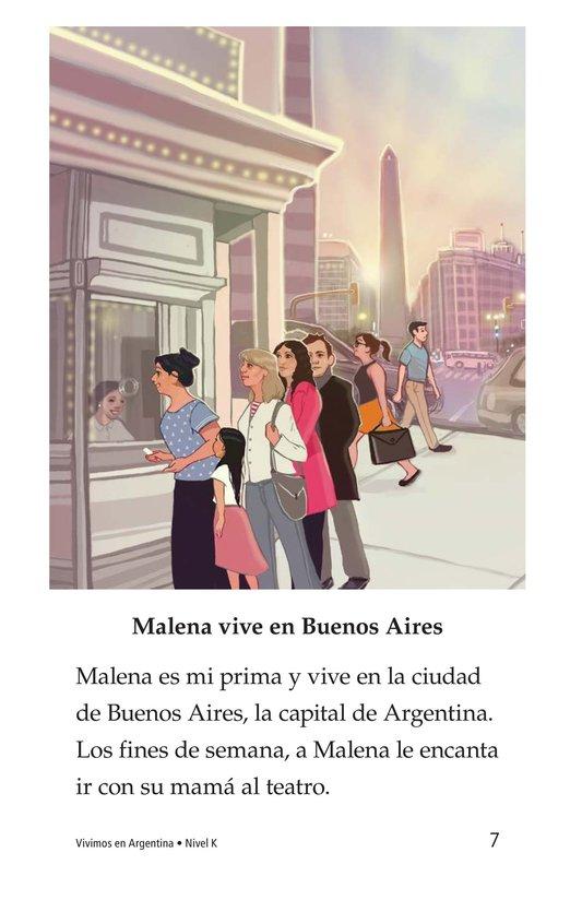 Book Preview For Vivimos en Argentina Page 7