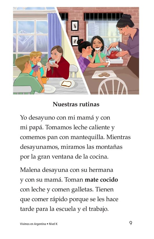 Book Preview For Vivimos en Argentina Page 9