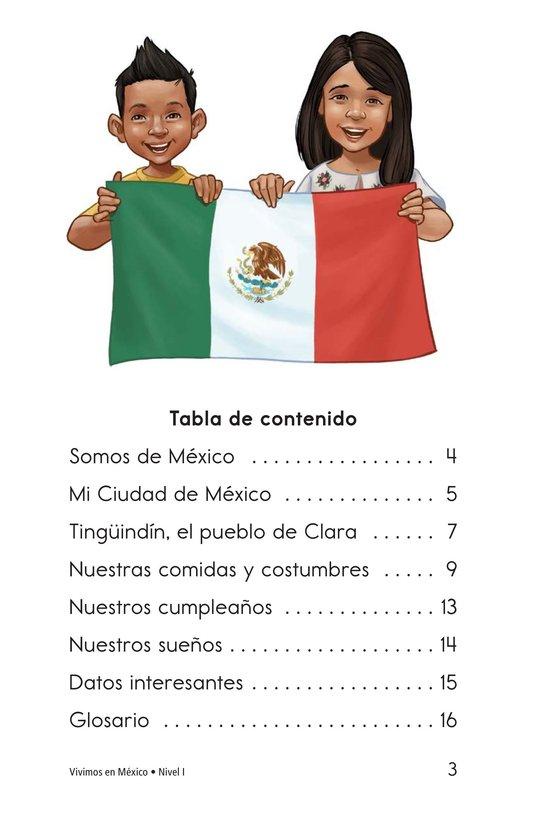 Book Preview For Vivimos en Mexico Page 3
