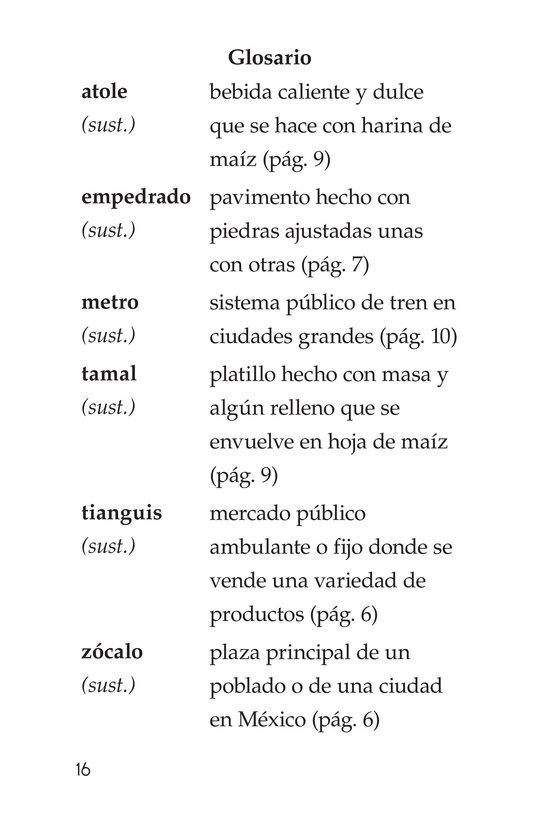 Book Preview For Vivimos en Mexico Page 16