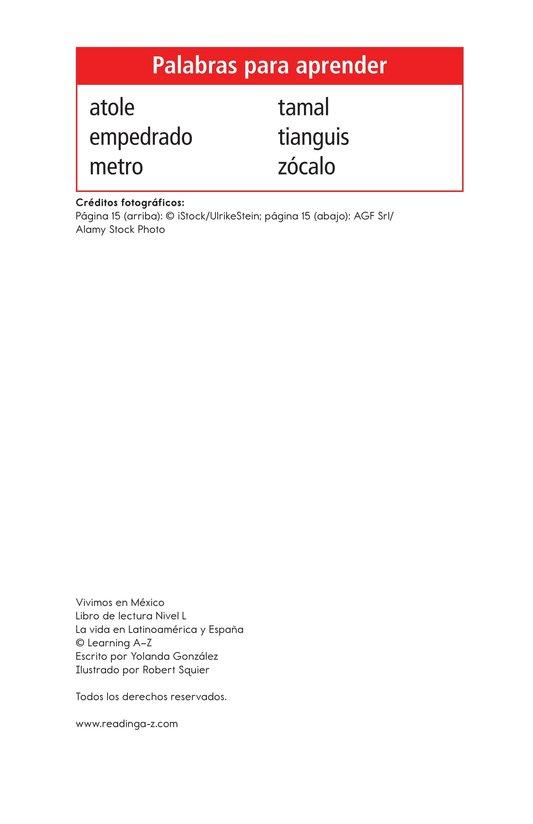 Book Preview For Vivimos en Mexico Page 2
