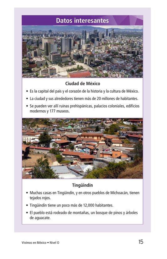 Book Preview For Vivimos en Mexico Page 15