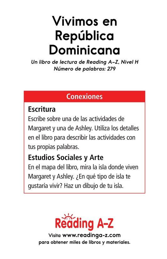 Book Preview For Vivimos en República Dominicana Page 17