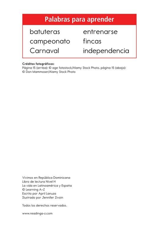Book Preview For Vivimos en República Dominicana Page 2