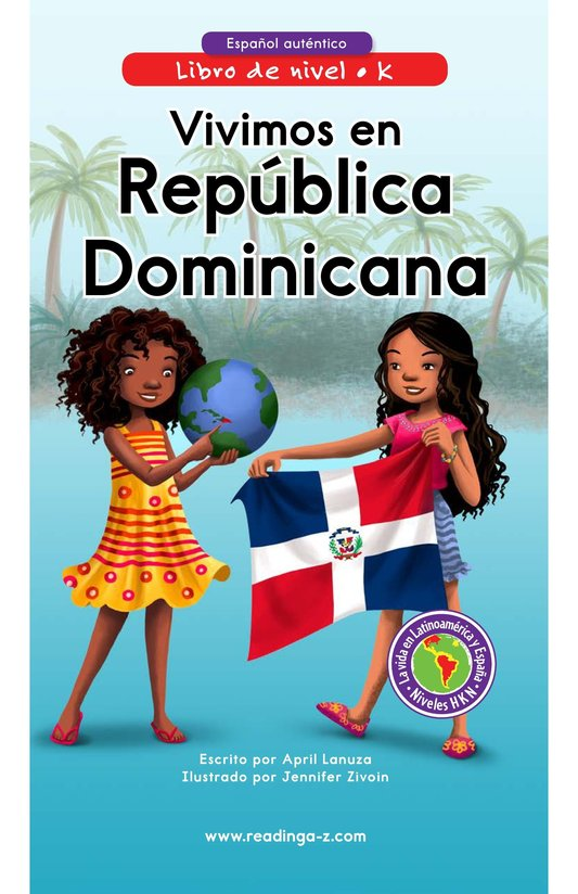 Book Preview For Vivimos en República Dominicana Page 0