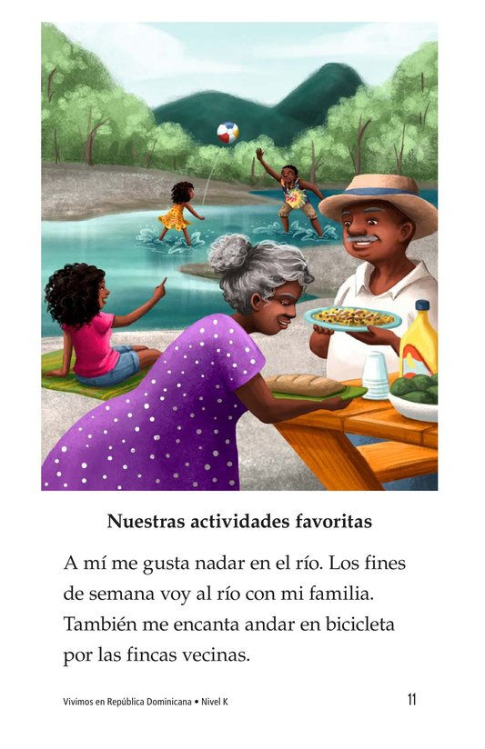 Book Preview For Vivimos en República Dominicana Page 11